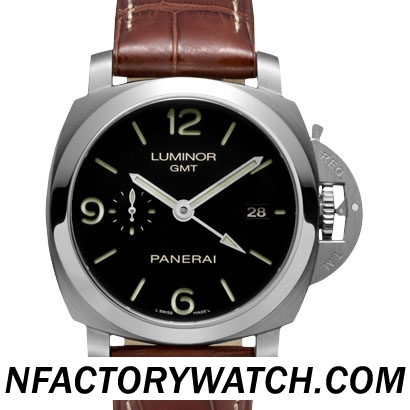 3A沛納海Panerai LUMINOR 1950 3 DAYS GMT AUTOMATIC Pam00320/Pam320
