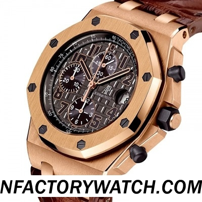 3A愛彼 AP Royal Oak Offshore 唐.拉蒙 限量版 DON RAMON de la CRUZ LIMITED 26192OR.D0801CR.01